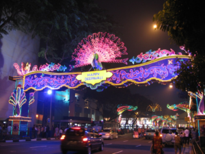 Best Attractions in Singapore by night.