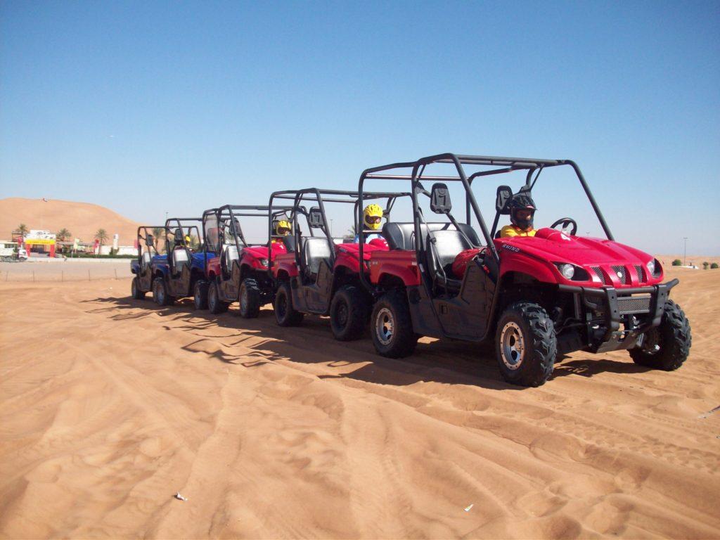 Dune bugging in Dubai