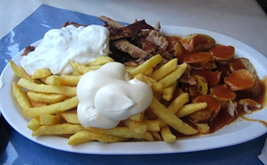 Currywurst - dish to try in Germany.