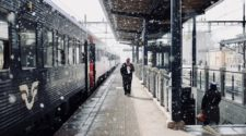germany train station during snow