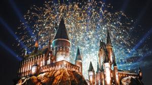 Harry Potter-themed amusement park.