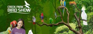 CREEK PARK EXOTIC BIRD SHOW