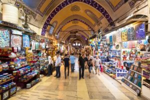 Grand Bazaar is one of the turkish locations in Istanbul