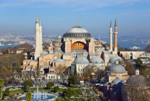 Hagia Sophia is one of the best locations in Istanbul
