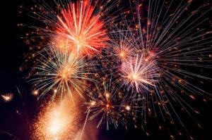 Firework display to enjoy during Eid Al Adha celebration