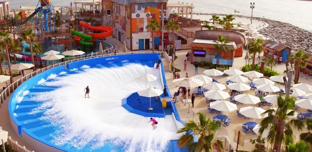 Laguna Waterpark is open in Dubai
