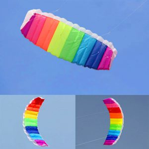 Double Line Rainbow Kite Dubai Kite Festival 2020