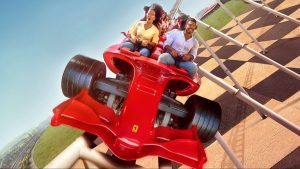 Formula Rossa, Ferrari World Abu Dhabi