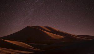 Al Khatim Desert is one of the best stargazing sites in UAE