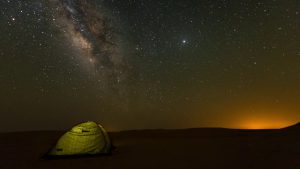 Al Quaa Desert is one of the place where it's worth to observe stars in UAE