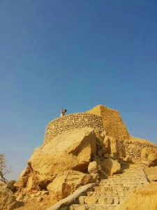 Dhayah Fort is a place where it's worth to go in Ras Al Khaimah
