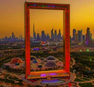 The Dubai Frame Places to visit Dubai post coronavirus