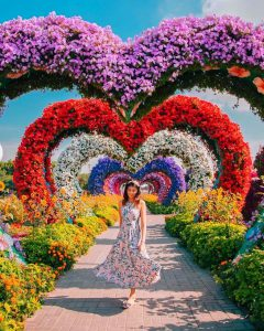 Dubai Miracle Garden is one of the most Instagrammable Places in Dubai