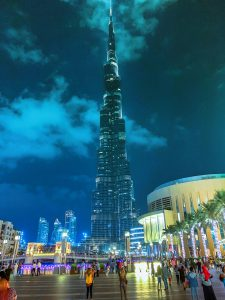 Burj Khalifa is one of the most Instagrammable Places in Dubai
