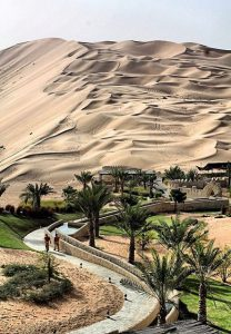 Liwa Oasis is one of the best stargazing places in the UAE