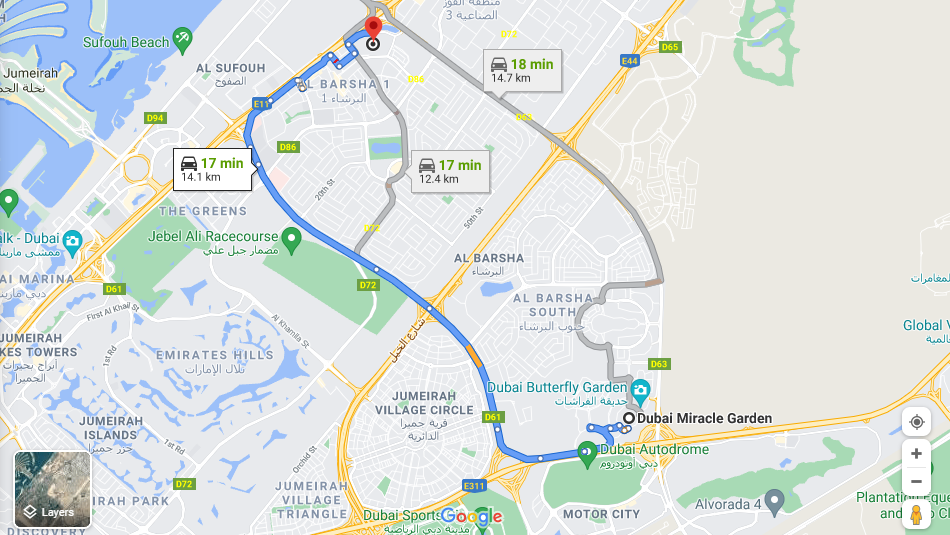 miracle garden route
