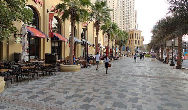 City Walk in Dubai during Eid al Adha 2020