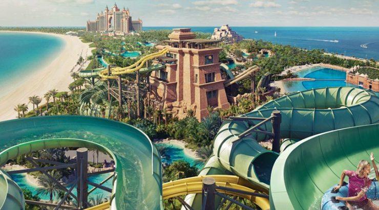 Atlantis Aquaventure attractions.