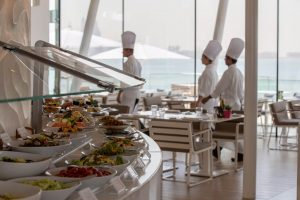 Meal at Burj al Arab is one of the top holiday season attractions in Dubai
