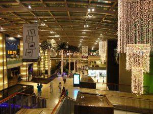 Duty free retail center the Dubai
