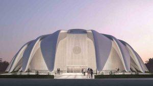 UAE Falcon pavilion