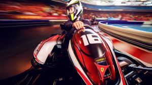 Ferrari world is one of the things to do in Abu Dhabi