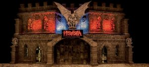 Hysteria Haunted House is the best of the top halloween attractions uae