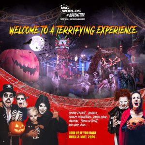 IMG Worlds of Adventure is one of the must visit halloween attractions in uae