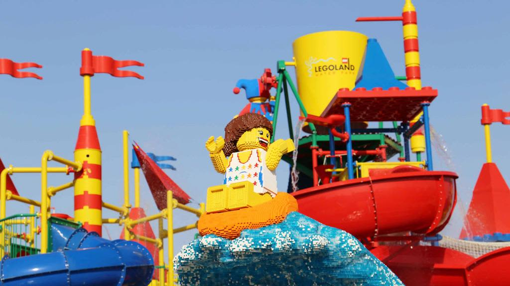 Legoland water park is one of the best theme parks in Dubai UAE