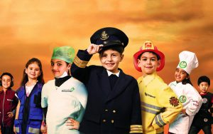 KidZania is one of the best places for kids in Dubai