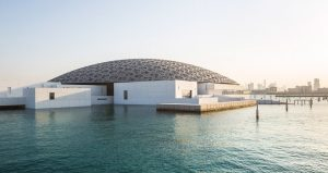 Louvre mouseum in Abu Dhabi is 40 meters above sea level.