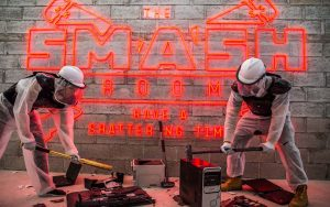 Smash Room is one of the top halloween attractions in uae