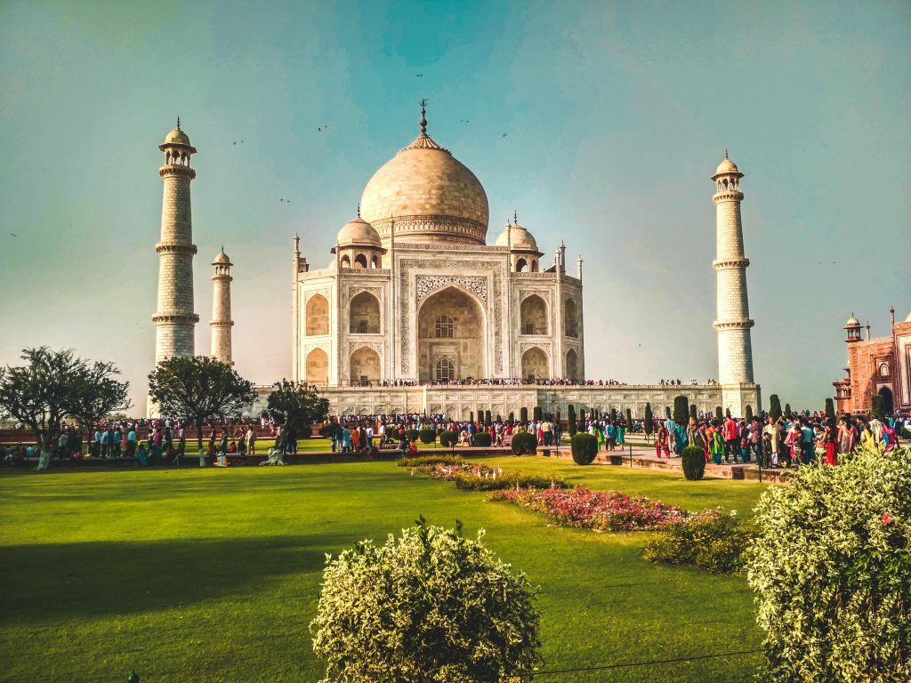 India is one of the virtual travel destination